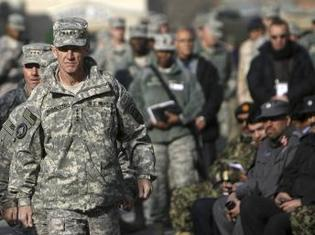 Le général Stanley McChrystal est satisfait de l'envoi de soldats américains supplémentaires en Afghanistan, REUTERS/Omar Sobhani