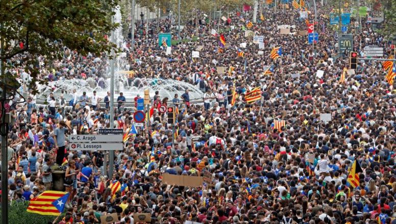 Espagne: l'agitation sociale monte en Catalogne