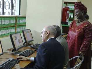 Inauguration-Enda Tiers Monde: Un centre de ressources multimédia pour les chercheurs et les étudiants