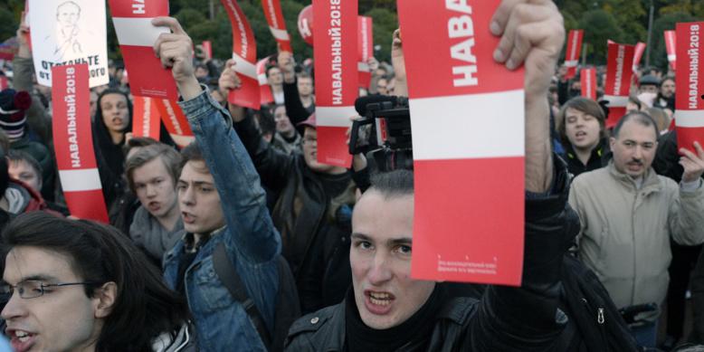 Russie : au moins 200 manifestants anti-Poutine arrêtés à Saint-Pétersbourg