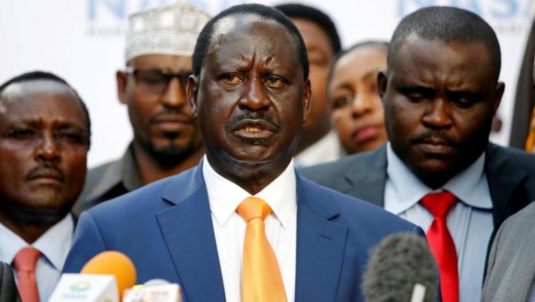 """Raila Odinga: """"l'élection prévue le 26 octobre sera pire que la précédente"""""""