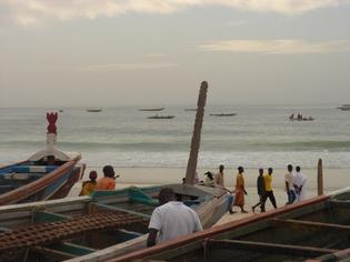 Rufisque et ses maisons englouties par l'océan