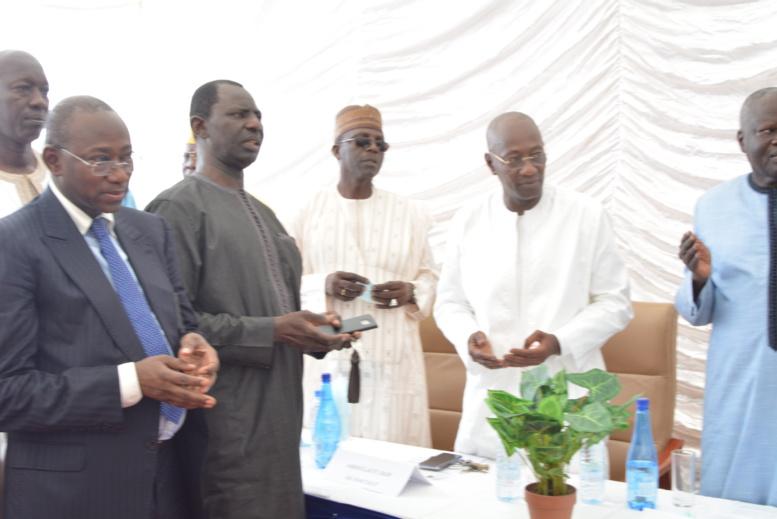 """Passation de service au COSEC - Abdoulaye Diop à son successeur Mamadou Ndione: """"Je vous laisse une société saine"""""""