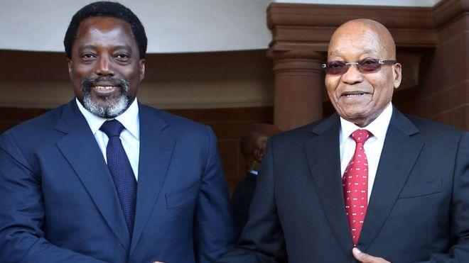 """Zuma en RDC: """"je suis satisfait"""""""
