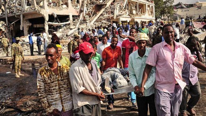 Somalie-Attentat : Le bilan des victimes s'alourdit
