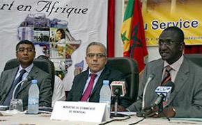 Caravane de l'export , une volonté commune de booster les échanges maroco-sénégalais. (Photo : MAP)