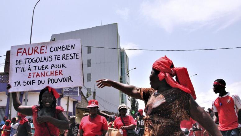 Togo: les manifestations dispersées à Lomé