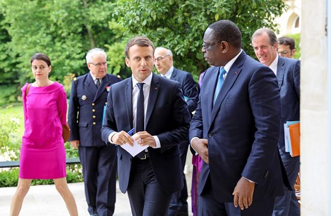 Urgent - Le président Macron annule son voyage à Dakar en novembre au Forum pour la Paix et la Sécurité