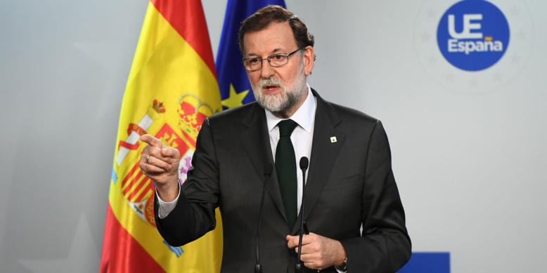 """Rajoy: """"Nous avons atteint une situation limite"""" en Catalogne"""