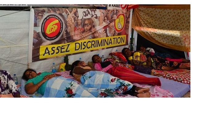 Ile Maurice : des femmes de ménage en grève de la faim