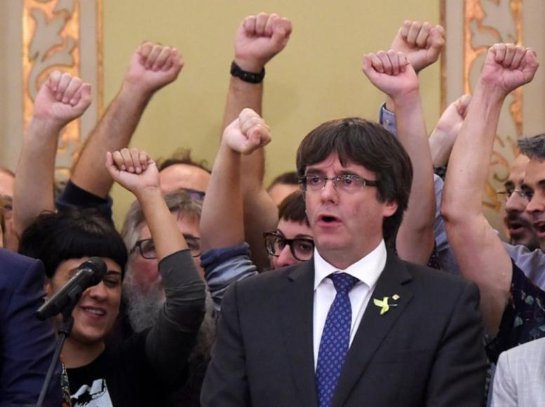 Catalogne : Puigdemont appelle à «s'opposer démocratiquement» à la mise sous tutelle