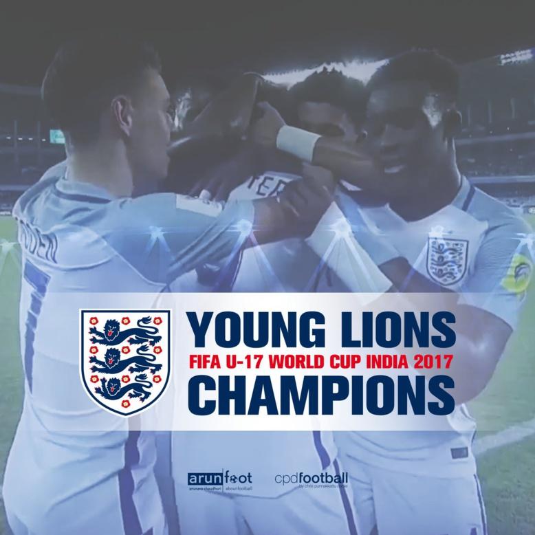 L'Angleterre remporte le Mondial des U17 en écrasant l'Espagne (5-2)
