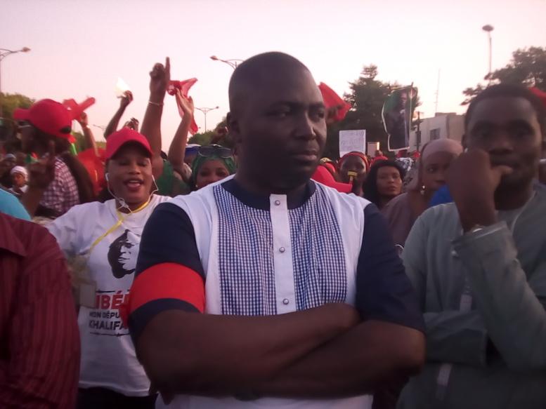 DIRECT Grand rassemblement: arrivée de Bamba Fall