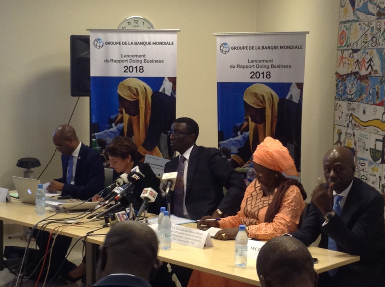 Urgent - Rapport Doing Business 2018 : Le Sénégal classé à la 140e place devant le...