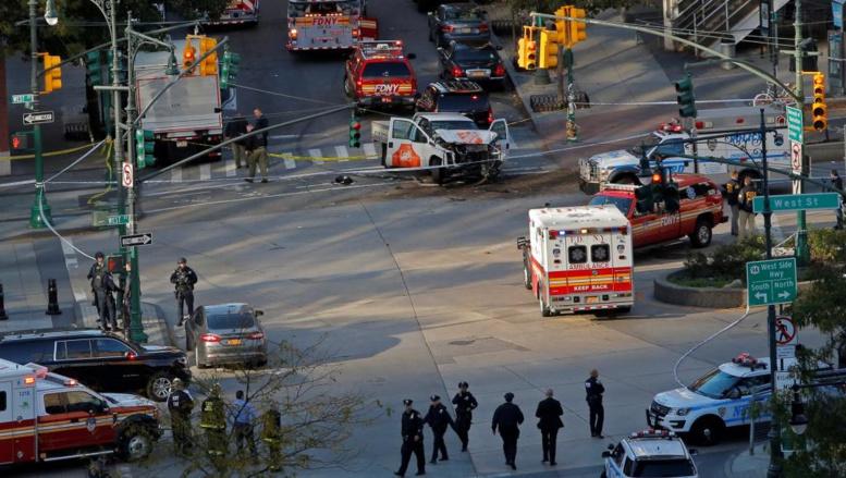 Un véhicule fonce sur des piétons à New York, des morts et des blessés