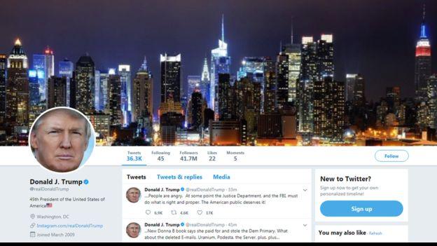 Le compte Twitter de Trump désactivé par un employé du réseau social
