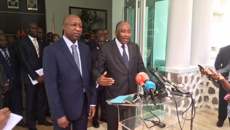 Côte d'Ivoire: le Premier ministre burkinabè en visite à Abidjan