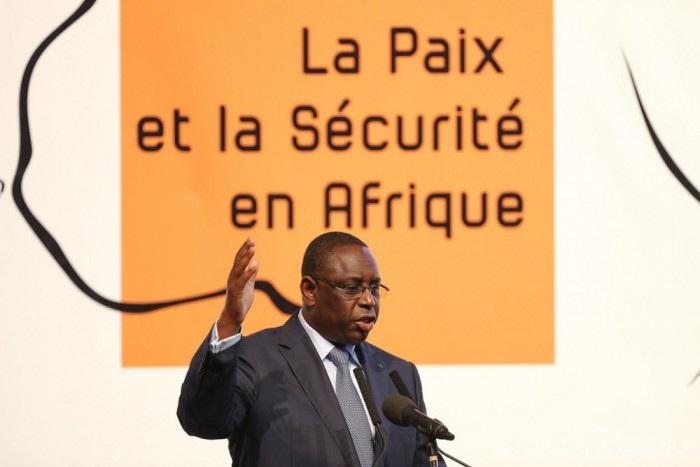 Forum paix et sécurité de Dakar : Le plaidoyer fort de Macky