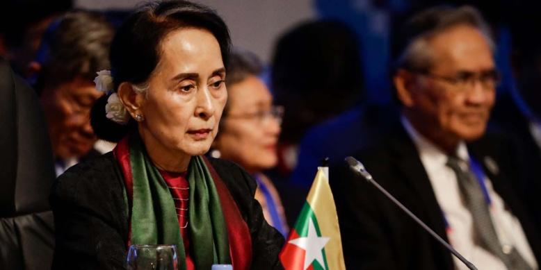 """Rohingyas : """"Je ne suis pas restée silencieuse"""", se défend Aung San Suu Kyi"""