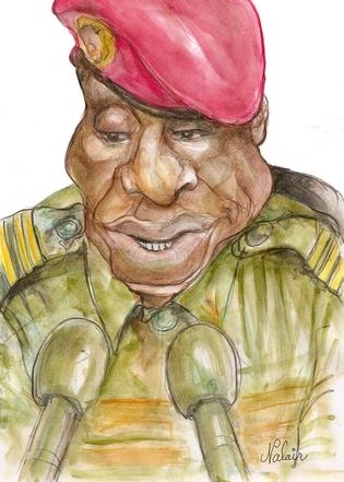 Dadis Camara : grandeur et décadence d'un capitaine fantasque