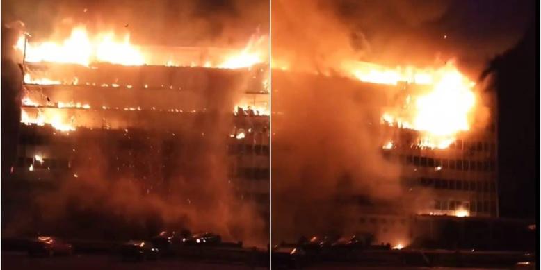 Cameroun: incendie à l'assemblée nationale