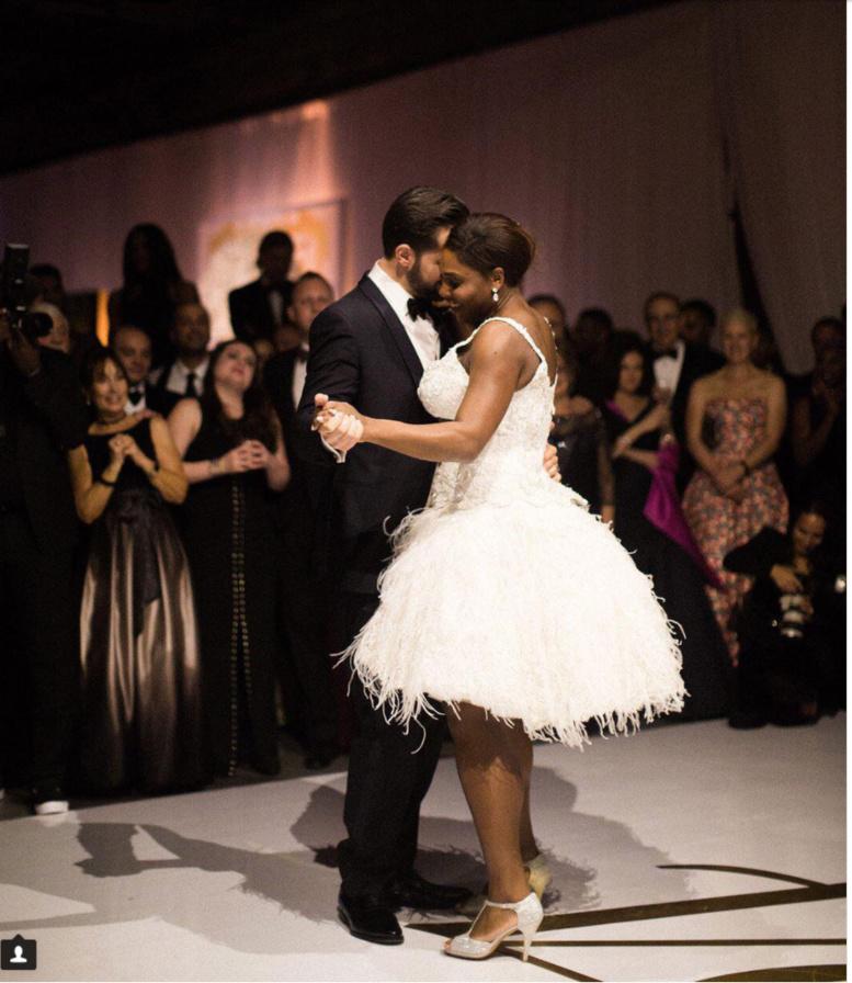 Photos: Les images du mariage de Serena Williams