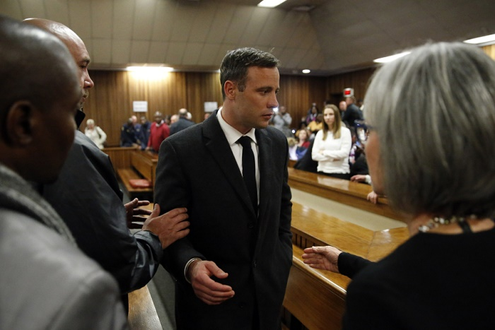 Urgent-Afrique du Sud: Oscar Pistorius condamné en appel à 13 ans et 5 mois de prison