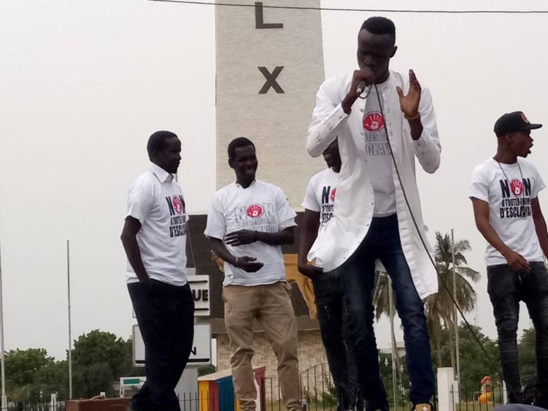 Rassemblement contre l'esclavage en Afrique : Abdourahmane met les dirigeants africains et européens dans le même sac