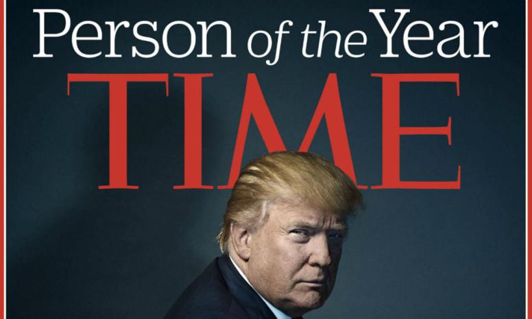 """Trump refuse d'être élu """"Homme de l'année"""" par le magazine Times"""