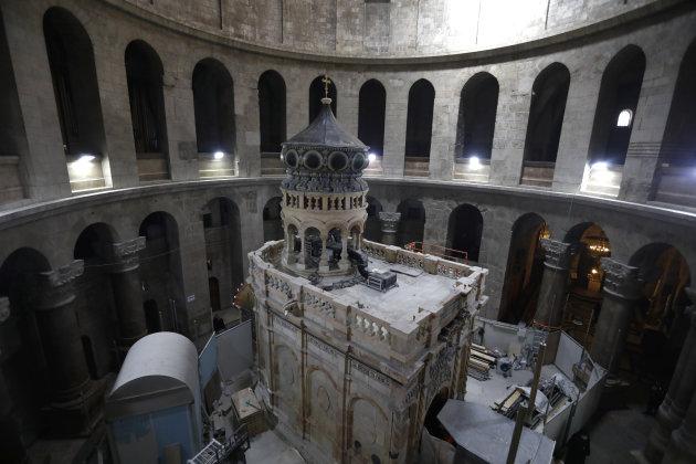 """""""Une découverte très importante"""" sur le site du tombeau du Christ à Jérusalem"""