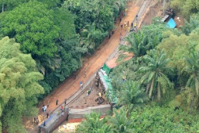 Déraillement d'un train en RDC: trois morts