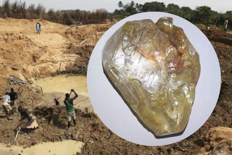 """ La Sierra Leone va vendre son """"gros diamant"""" à New York"""