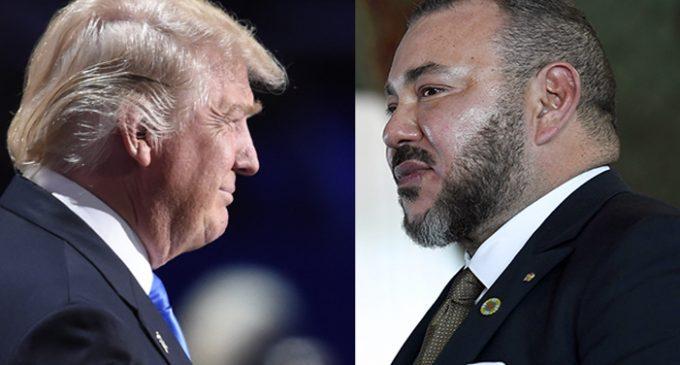 Le Roi Mohamed VI du Maroc écrit une lettre à Trump pour le mettre en garde