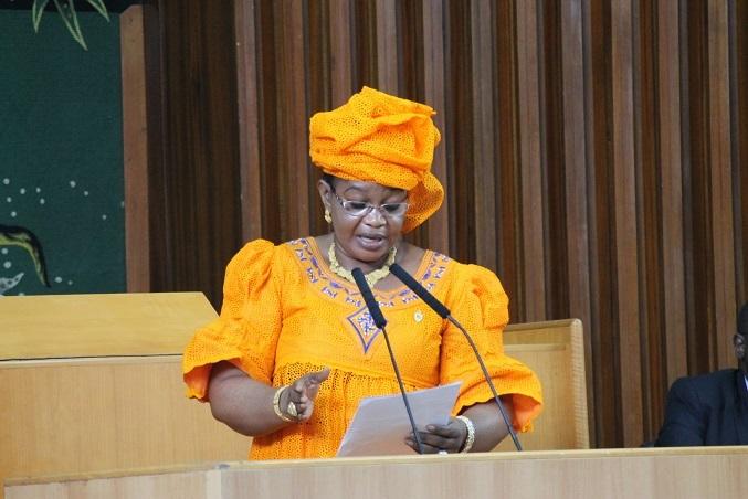 Assemblée nationale : Aïda Mbodj, l'avocate des élèves-maîtres