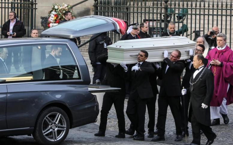 Départ de la dépouille de Johnny Halliday pour Saint Barth où il sera inhumé lundi