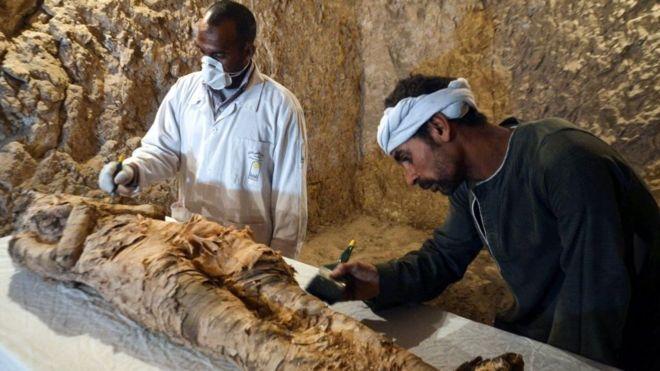 Egypte : découverte d'une nouvelle momie