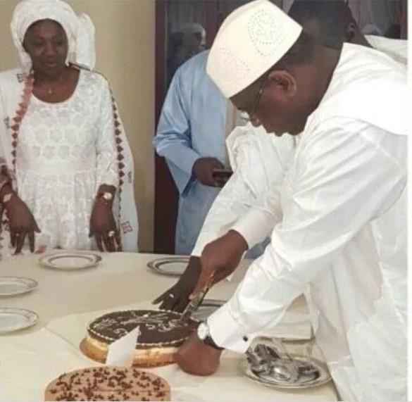Images de l'anniversaire présidentiel: Macky fête ses 56 ans