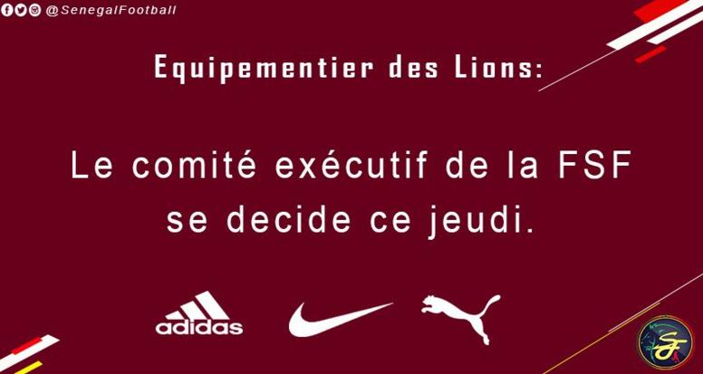 """Equipementier des """"Lions"""" : Le choix de la fédération attendu jeudi"""