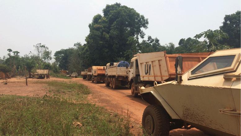 Centrafrique: les civils d'Ippy se réfugient sur des sites de déplacés