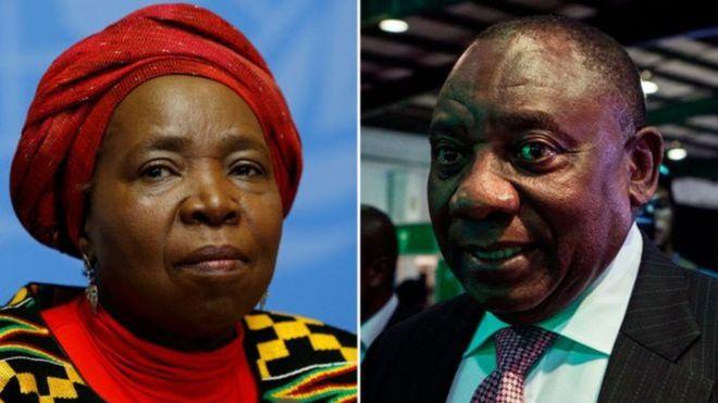 Élection au sein de l'ANC — Afrique du Sud