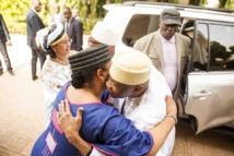 Images exclusives: IBK a reçu ATT et sa famille dans sa résidence à Sebenikoro