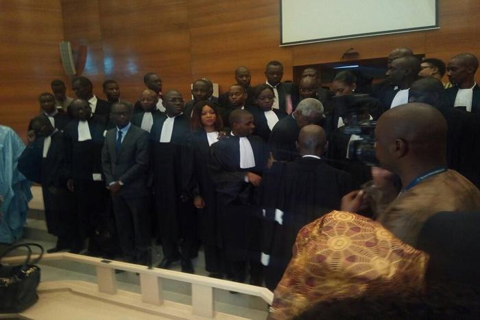 La prestation de serment des avocats stagiaires en images