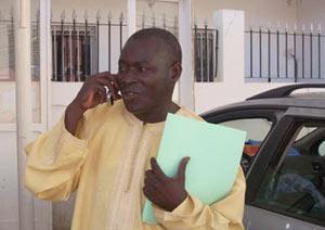 Le secrétaire général du Syndicat unique des travailleurs de la santé et de l'action sociale (SUTSAS), Mballo Dia Thiam