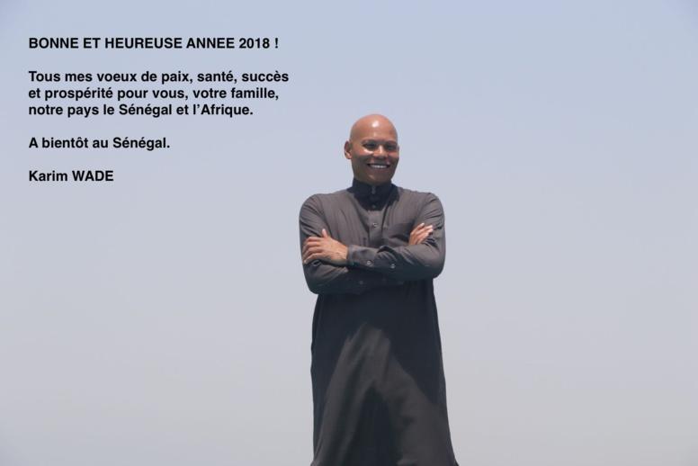 Image - Voeux de fin d'année: Karim devance Macky