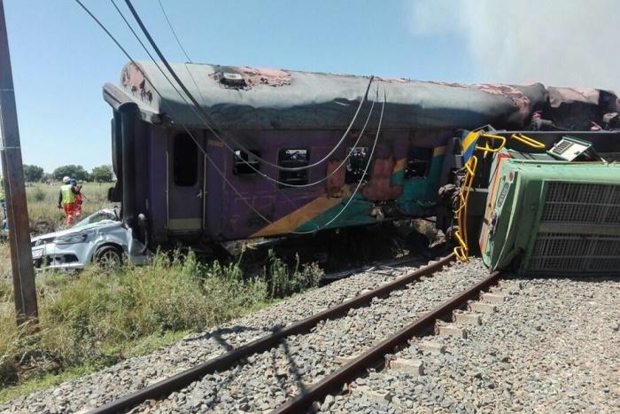  Accident de train en Afrique du Sud : au moins 4 morts et 4 blessés