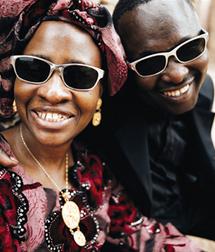 Amadou et Mariam, chanteurs maliens