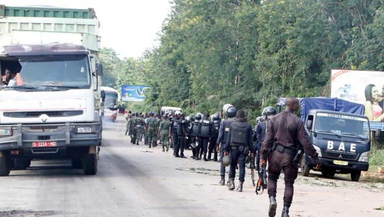 Côte d'Ivoire: tensions entre corps d'armée à Bouaké, une enquête est en cours