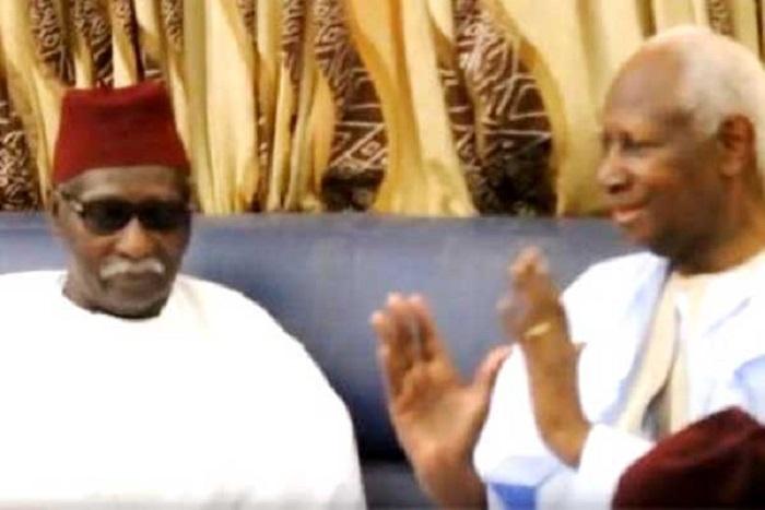 Abdou Diouf intercède pour Macky Sall auprès de Serigne Mbaye Sy Mansour «Je vous prie de le soutenir parce que… »