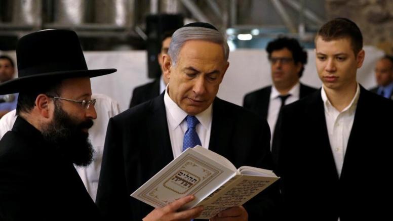Israël : L'enregistrement diffusé du fils de Netanyahou qui risque de couler le gouvernement de son père