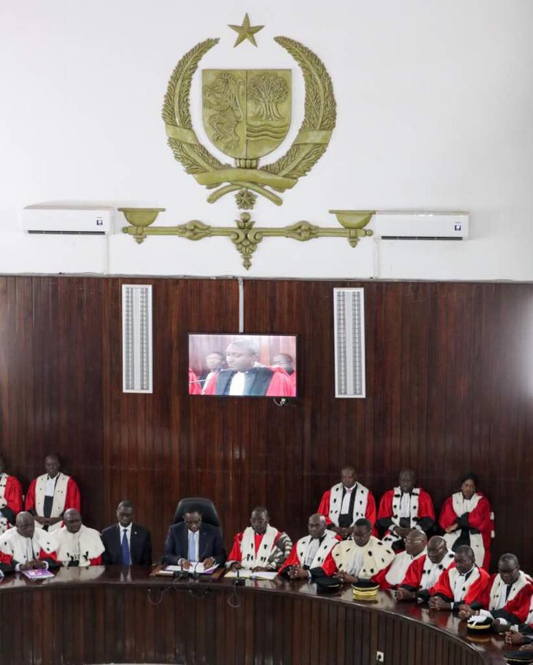 Rentrée des Cours et Tribunaux : Macky se dit prêt à discuter sur la présidence du Conseil supérieur de la magistrature